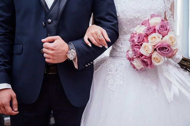 couple récemment marié
