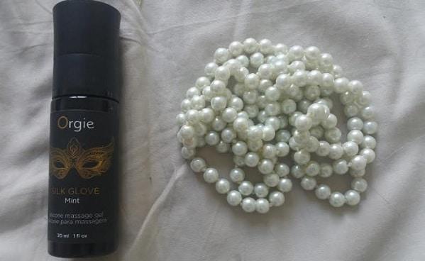 contenu des perles lust de massage