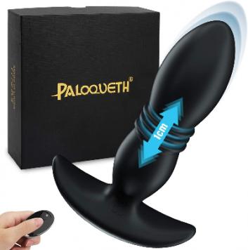 Plug anal vibrant en silicone